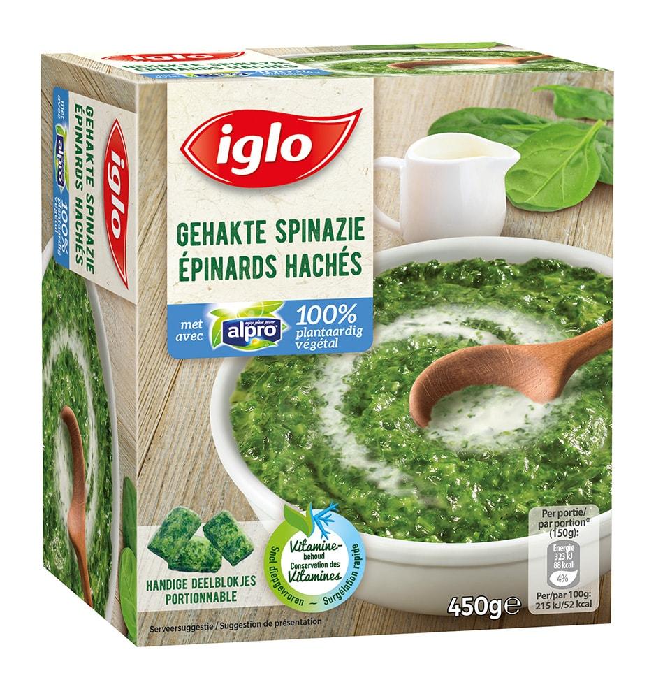 spinazie  alpro soya 450g