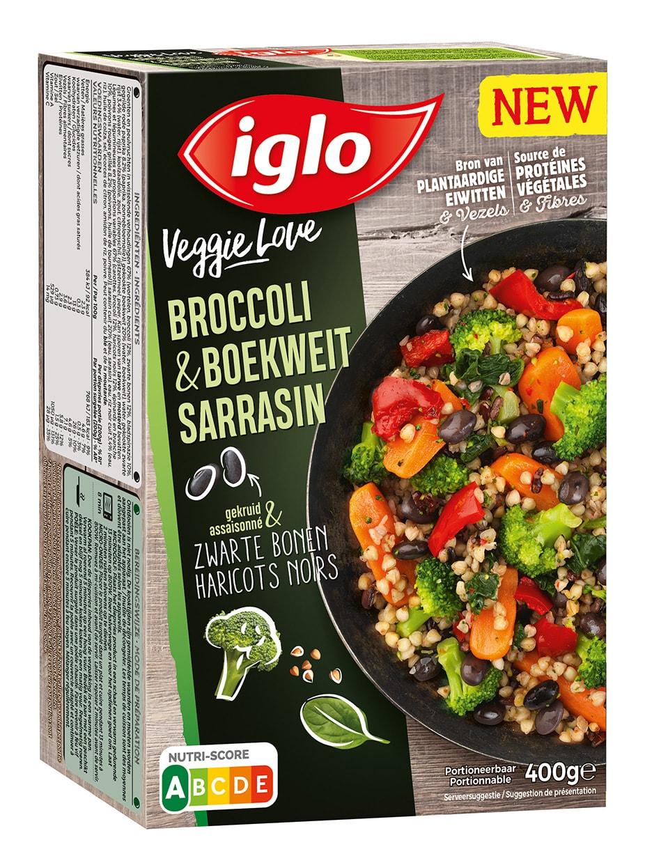 Veggie love brocoli sarrasin