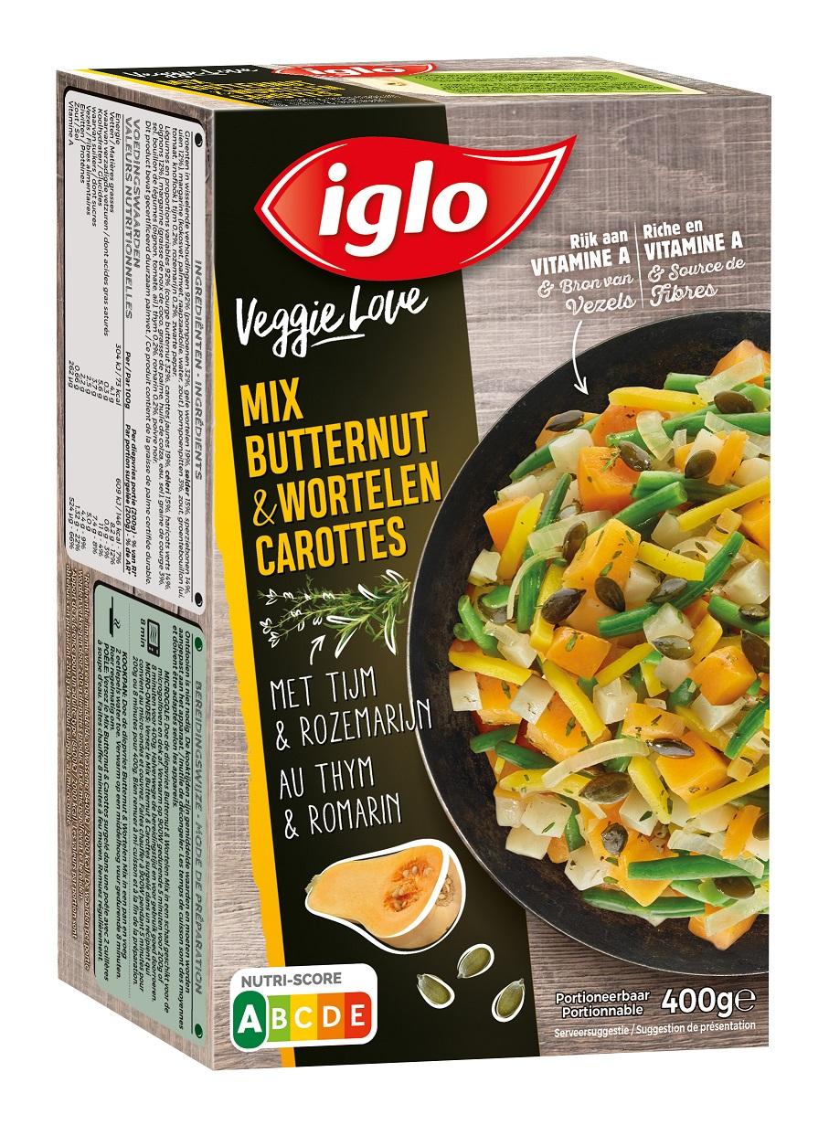 veggie love butternut wortelen