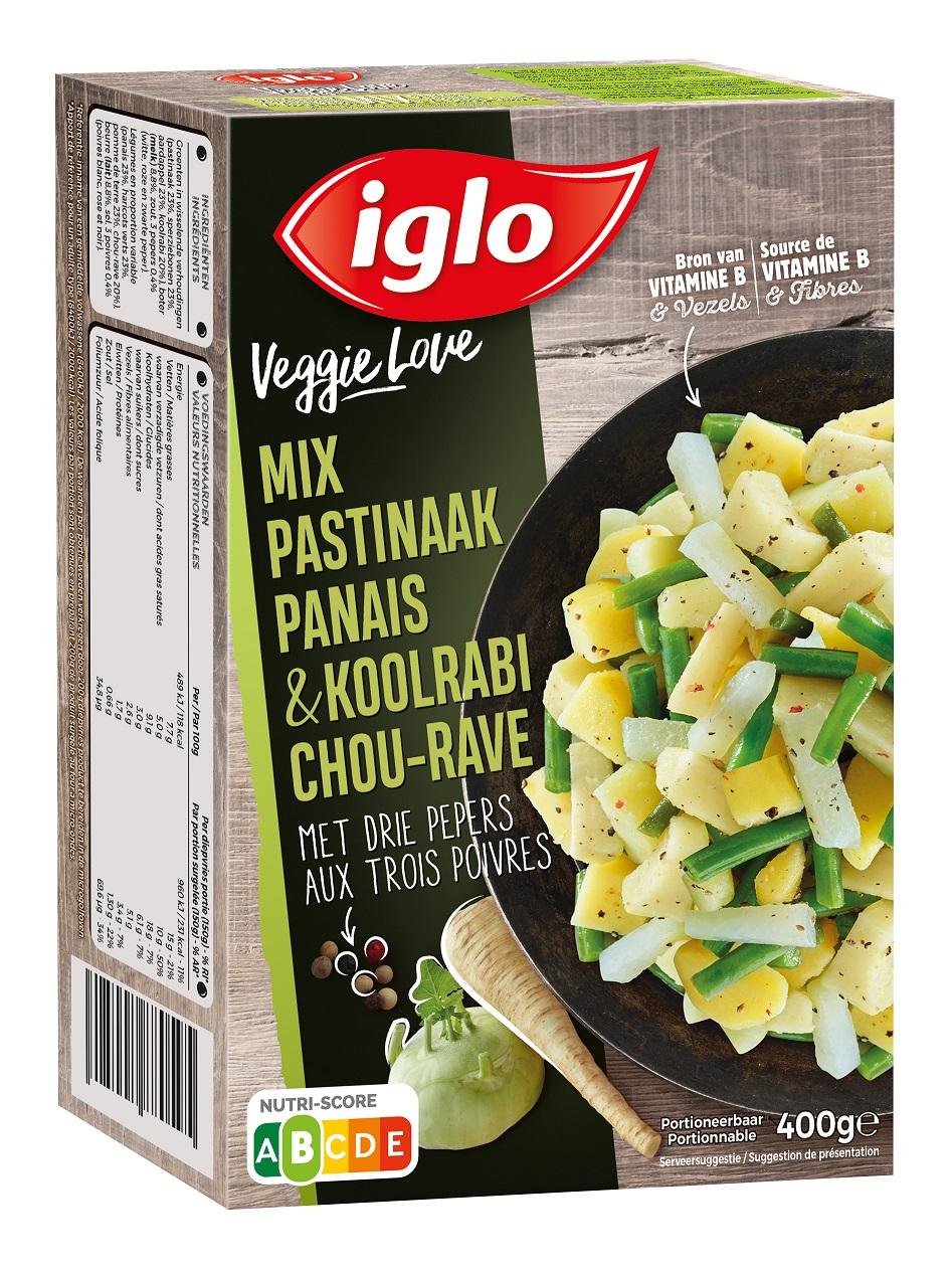 veggie love mix pastinaak koolrabi