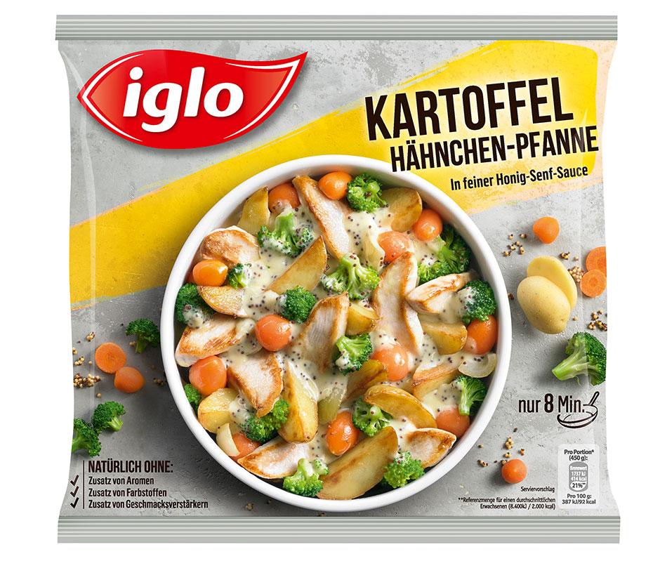 iglo Kartoffel Haehnchen