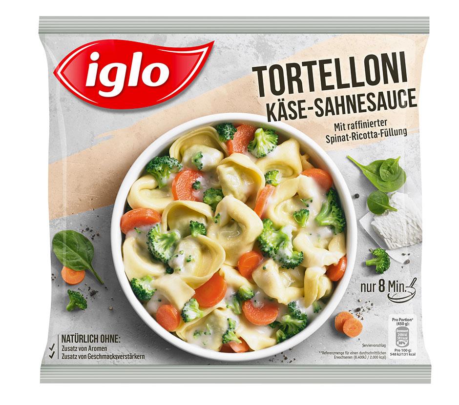Tortelloni Schinken Sahne Soße