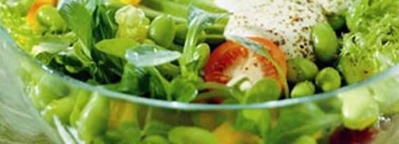 California Salat mit Erbsen