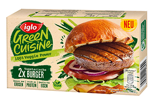 Vegetarische Burger iglo