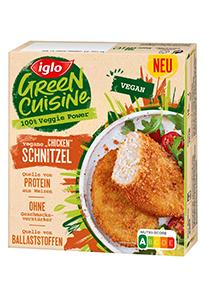 "iglo Green Cuisine vegane ""Chicken"" Schnitzel"