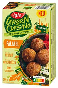 Green Cuisine vegane Falafel