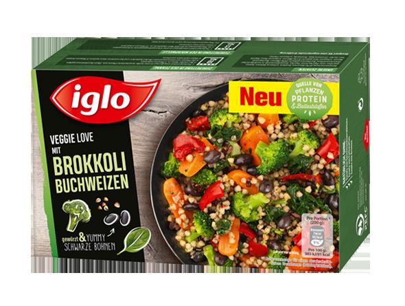 iglo Veggie Love Brokkoli Buchweizen Verpackung