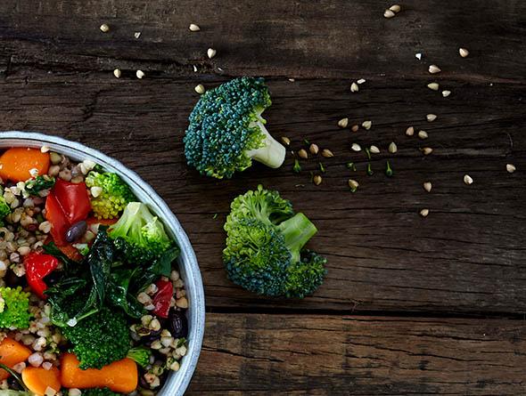 Broccoli Detailansicht
