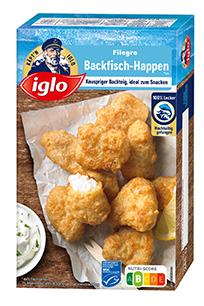 Filegro Backfisch-Happen