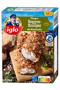 iglo Filegro Roggen-Knusper
