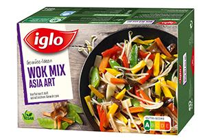 iglo Gemüse-Ideen Wok Mix Asia Art