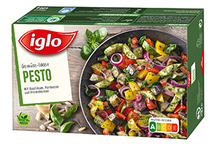 Produktverpackung Gemüse-Ideen Pesto