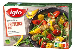 Produktverpackung Gemüse-Ideen Provence Art