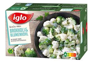 iglo Gemüse-Ideen Brokkoli & Blumenkohl