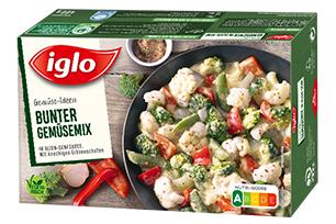 iglo Gemüse-Ideen Bunter Gemüsemix