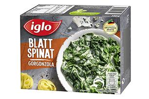 Blattspinat Gorgonzola