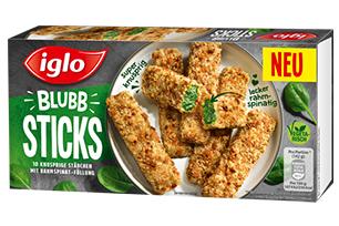 Produktverpackung BLUBB Sticks