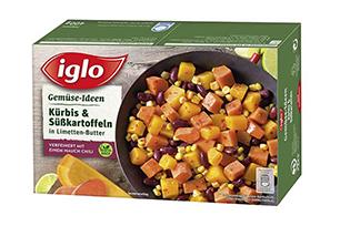 Produktverpackung Gemüse-Ideen Kürbis & Süsßkartoffeln