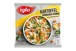 Produktverpackung Kartoffel-Hähnchen-Pfanne