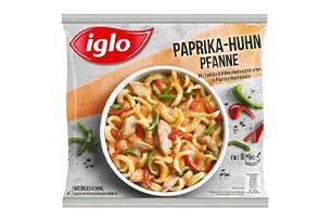 Produktverpackung Paprika-Huhn-Pfanne