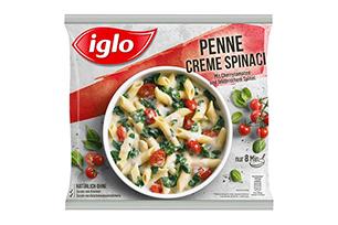 Produktverpackung Penne Creme Spinaci
