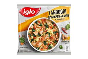 Produktverpackung Tandoori Hähnchen-Pfanne