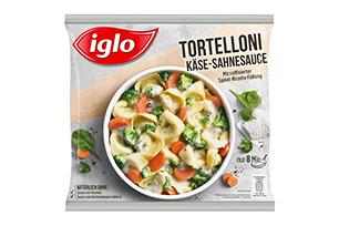 Produktverpackung Tortelloni Käse-Sahne-Sauce