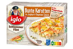 Produktverpackung Schlemmer-Filet Bunte Karotten