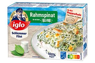 Schlemmer-Filet Rahmspinat