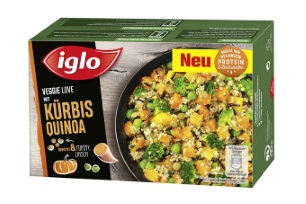 Veggie Love mit Kürbis und Quinoa