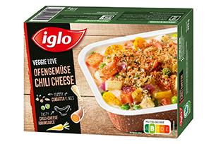 Produktverpackung Veggie Love Ofengemüse Chili Cheese
