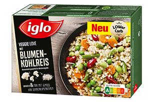 Produktverpackung Veggie Love Blumenkohlreis