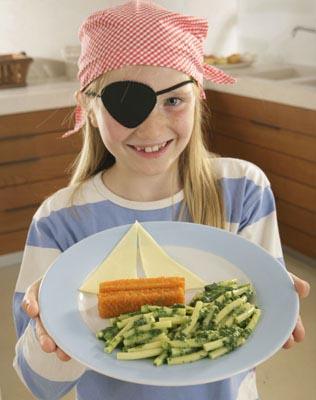 Nudelgericht für Kinder