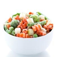 Tiefgefrorenes Gemüse