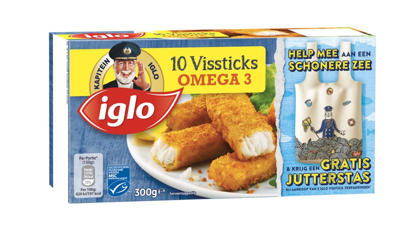 Iglo Vissticks Omega3 10st