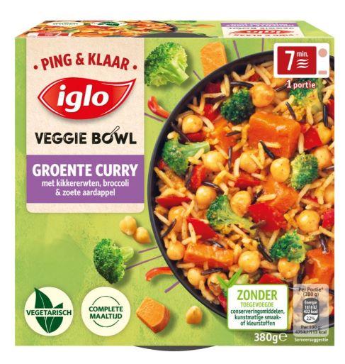 Ping Klaar Groente curry