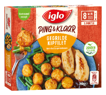 Iglo Ping & Klaar gegrilde kipfilet