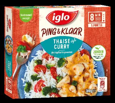 Iglo Roerbak Sensatie Pasta met kipfilet, spinazie & Boursin