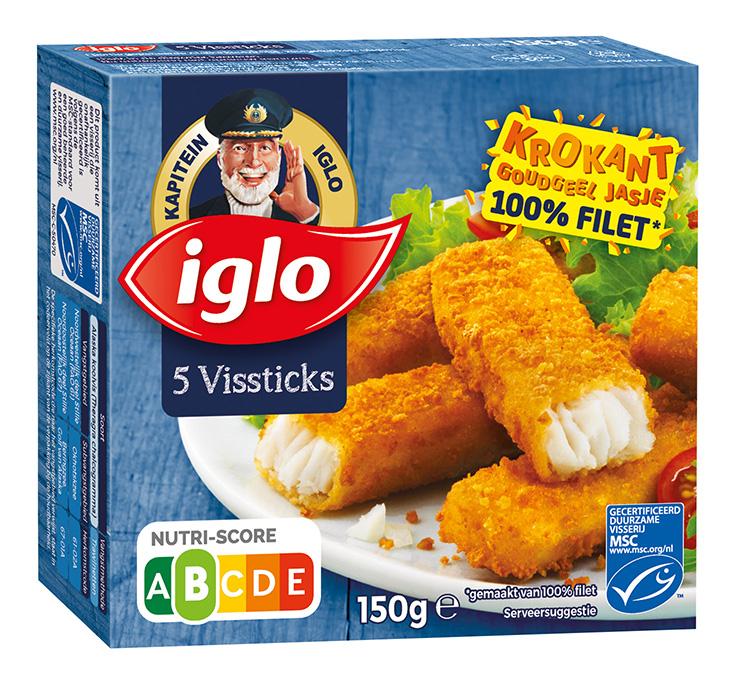 Iglo Vissticks 5st
