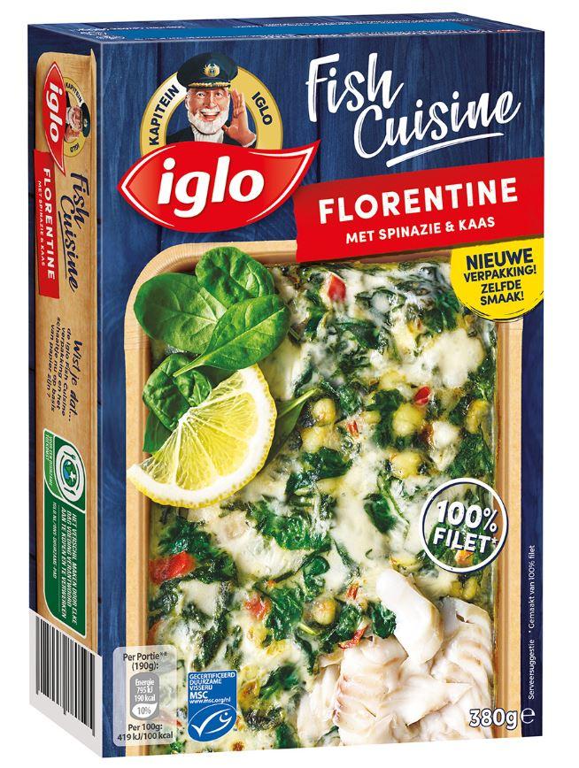 Iglo Fish Cuisine Florentine