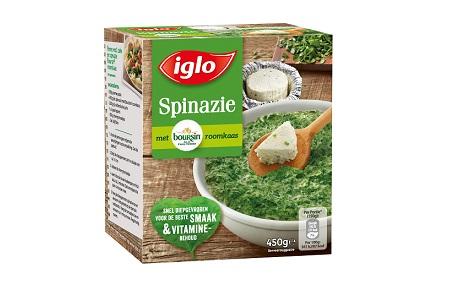 spinazie met boursin