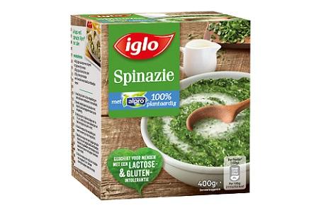 spinazie met alpro