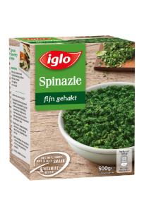 spinazie fijn gehakt
