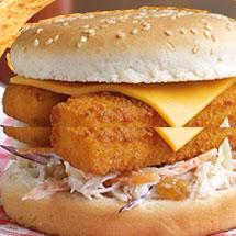 visstick burger