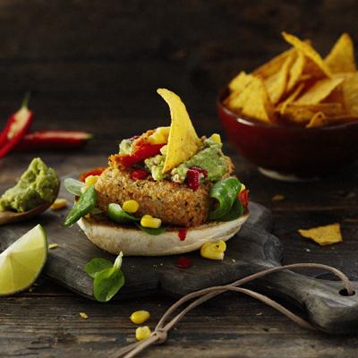 Mexicaanse visburger