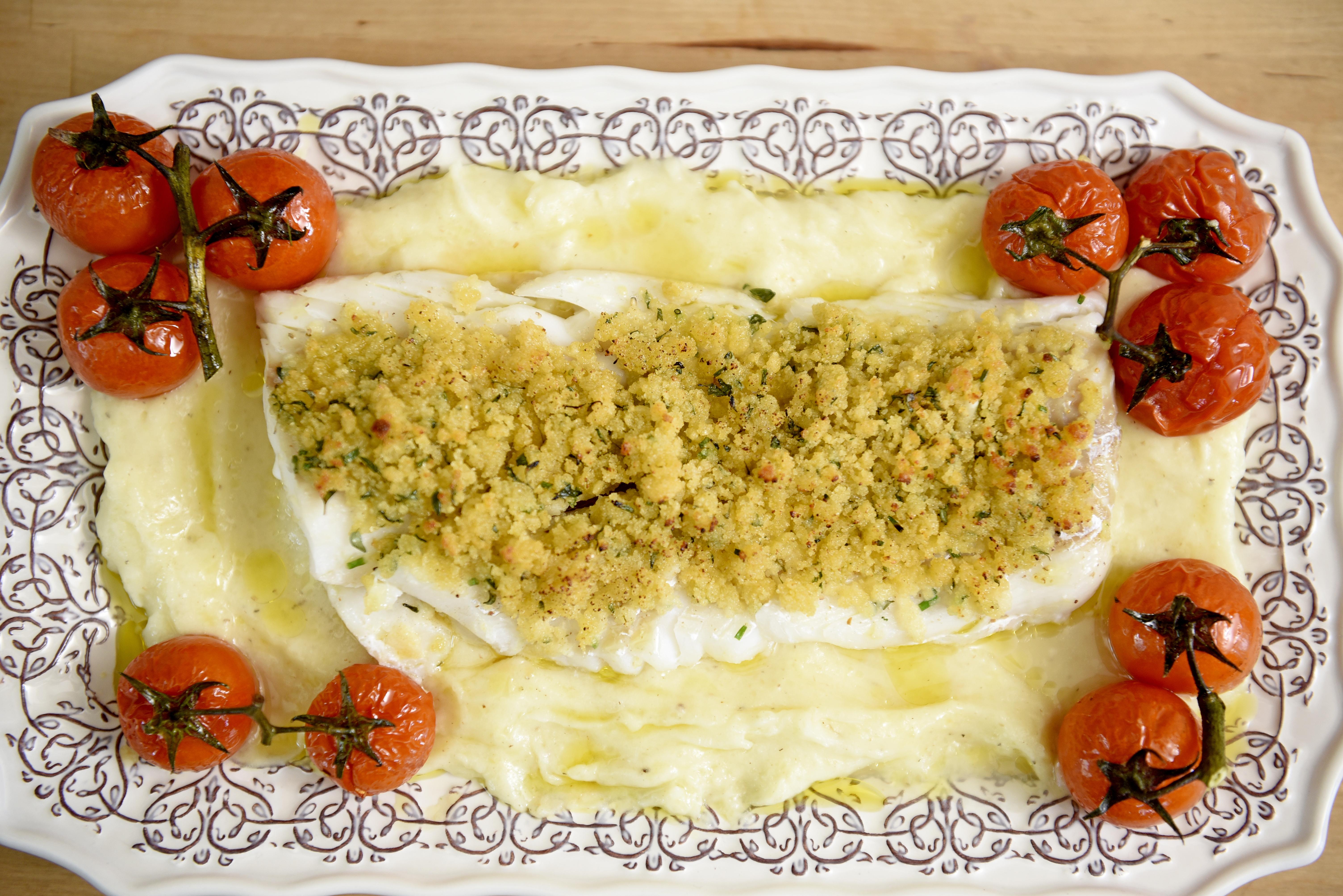 receita de bacalhau no forno
