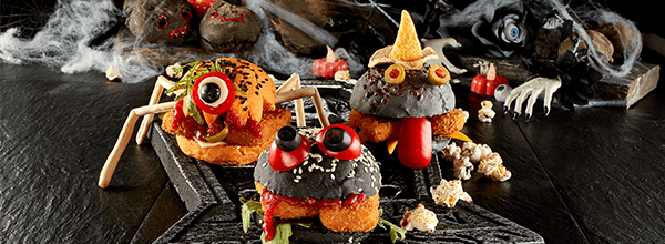 faça a festa receitas de nuggets halloween
