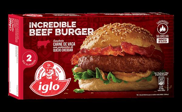 big burgers de vaca Capitão Iglo