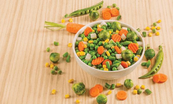 macedónia de legumes