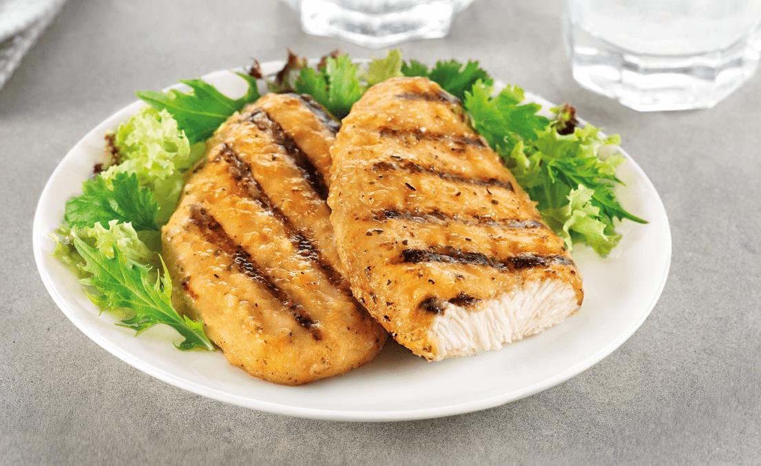 supremos de frango com alface zoom